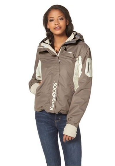 kangaroos 3 in 1 funktionsjacke outdoorjacke winterjacke jacke damen gr 36 38 40 inmove sports. Black Bedroom Furniture Sets. Home Design Ideas