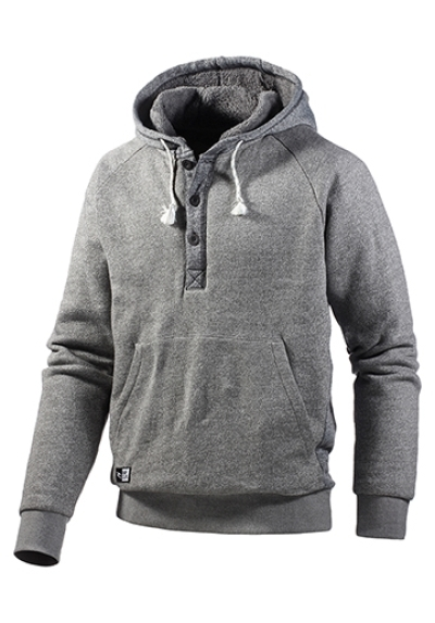buy popular 71d99 63473 Rip Curl Gloomy Pop Over Hoody Sweatshirt Pullover Kapuze Herren grau  Fleece Gr. M