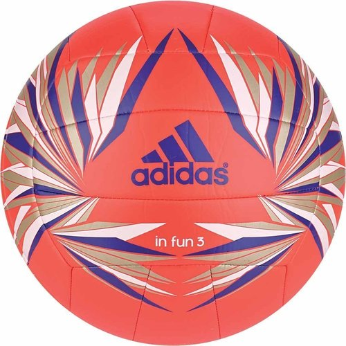 Adidas IN FUN 3 Volleyball Ball Training Halle rot Damen Herren Gr. 5