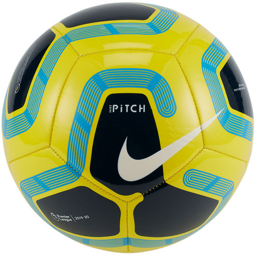 Nike Pitch Fußball Ball Training Trainingsball gelb Premier League Gr. 5